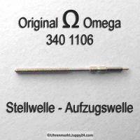 Omega Aufzugswelle Stellwelle Omega 340-1106 Cal. 340 341 342 343 344 350 351 352 353 354 355