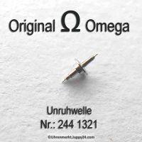 Omega 244-1321 Unruhwelle, Omega 244 1321 Cal. 244