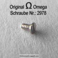 Omega Schraube 2978 Part Nr. Omega 2978
