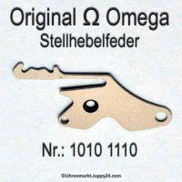 Omega Stellhebelfeder Omega 1010-1110 Cal. 1010 1011 1012 1020 1021 1022 1030