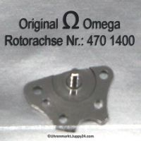 Omega Rotorachse Part Nr. Omega 470-1400 Cal. 470 471 490 491 500 501 502 503 504 505