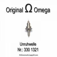 Omega 330-1321 Unruhwelle, Omega 330 1321, Cal. 330 331 332 333 340 341 342 343 344 350 351 352 353 354 355 30.10 30.10T1 28.10RA PC ...