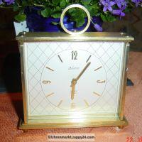 Alte TISCHUHR KAISER 8 Tage Werk 60-70er Jahre 8 day UHR , 7 Jewels