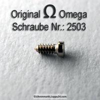 Zifferblattschraube Omega Schraube 2503 Part Nr. Omega 2503