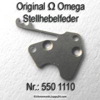 Omega Stellhebelfeder Omega 550-1110 Omega Winkelhebelfeder Cal. 550 551 552 560 561 562 600 601 602 610 611