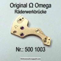 Omega Räderwerkbrücke Part Nr. Omega 500-1003 Cal. 500 501 502 503 504