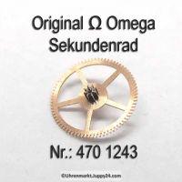 Omega Sekundenrad Part Nr. Omega 470-1243 Cal. 470 471 490 491 500 501 502 503 504 505