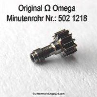 Omega Minutenrohr Höhe 3,28 mm Part Nr. Omega 502-1218 Cal. 502 503 504