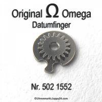 Omega Datumfinger montiert Part Nr. Omega 502-1552 Cal. 502 503 504