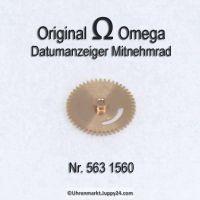 Omega Datumanzeiger Mitnehmrad Part Nr. Omega 563-1560 Cal. 563 564 565 750 751 752