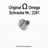 Omega Schraube für Werkbefestigungsbügel 2281 Omega Werkbügelschraube Part Nr. Omega 2281