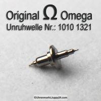 Omega 1010-1321 Unruhwelle, Omega 1010 1321 Cal. 1010 1011 1012 1020 1021 1022 1030 1035