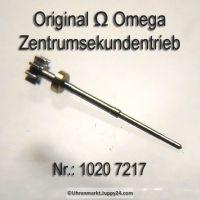 Omega Zentrumsekundentrieb H1 mit Ring Part Nr. Omega 1020-7217 Cal. 1020 1021 1022
