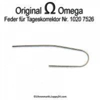 Omega Ferder für Tageskorrektor Part Nr. Omega 1020-7526 Cal. 1020 1021 1022