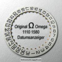 Omega 1110-1580 Datumanzeiger Neuware (Datumsscheibe - Datumsring) Omega 1110 1580 Cal. 1110