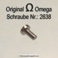 Omega Schraube 2638 Part Nr. Omega 2638