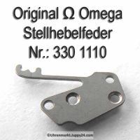 Omega Stellhebelfeder Part Nr. Omega 330-1110 Cal. 330 bis 372 410 420 470 471 490 491 500 501 502 503 504 505 510 511 520