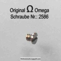 Omega Schraube 2586 Part Nr. Omega 2586