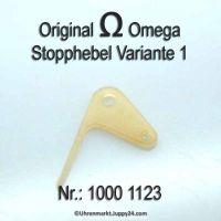 Omega Stopphebel Part Nr. Omega 1000-1123 Cal. 1000 1001 1002 1010 1011 1012 1020 1021 1022 1030 1035