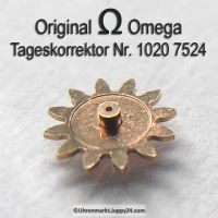 Omega 1020-7524 Tageskorrektor Omega 1012 7524 Cal. 1020 1021 1022
