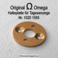 Omega 1020-1555 Halteplatte für Tagesstern Omega 1020 1555 Cal. 1020 1021 1022