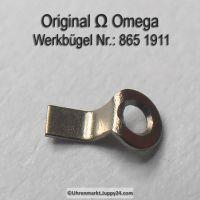 Omega Werkbügel , Werkbefestigungsbügel. Part Nr. Omega 865-1911 Cal. 861 863 865 910 usw.