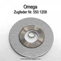 Omega Zugfeder Omega 550-1208 Omega Schleppfeder Cal. 550 551 552 560 561 562 563 564 565 750 751 752