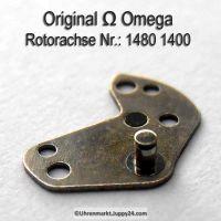 Omega Rotorachse Part Nr. Omega 1480-1400 Cal. 1480 1481