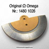 Omega Rotor gebraucht Part Nr. Omega 1480-1026 Cal. 1480 1481