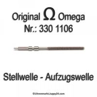 Omega Aufzugswelle Stellwelle Part Nr. Omega 330 1106 Cal. 330 331 332 333