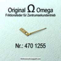 Omega Friktionsfeder für Zentrumsekundentrieb  Part Nr. Omega 470 1255 Cal. 470 471 500 501 502 503 504 505