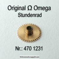 Omega Stundenrad Höhe 1,61 mm Part Nr. Omega 470 1231 Cal. 470 471 490 491 500 501 505