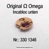Omega Incabloc unten Part Nr. Omega 330 1346 Cal. 28.10RA 28.10RASC 30.10RA 330 bis 520 siehe Anzeige.