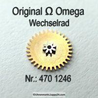 Omega Wechselrad – Omega Minutenrad Part Nr. Omega 470 1246 Cal. 470 470 490 491 500 501 505