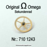 Omega Sekundenrad 710-1243 Omega 710 1243 Cal. 710 711 712