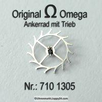 Omega Ankerrad mit Trieb Part Nr. Omega 710-1305 Cal. 710 711 712