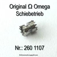 Omega Schiebetrieb Omega 260-1107 Cal. 260 261 262 265 266 267 268 269 280 283 284 285 286 30 30SCT2 30T1 30T2 30T3