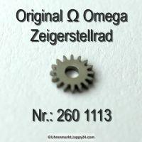 Omega Zeigerstellrad Omega 260-1113 Cal.  260 261 262 265 266 267 268 269 280 283 284 285 286 30 30SCT2 30T1 30T2 30T3