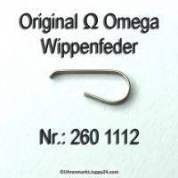 Omega Wippenfeder Omega 260-1112 Cal. 30 30SCT2 30T1 30T2 30T3 260 261 262 265 266 267 268 269 280 283 284 285 286