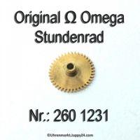 Omega Stundenrad 260-1231 Omega 260 1231 Höhe 1,61 mm Cal. 261 261 262 265 266 267 268 269 30T2 30T2RG 30T3