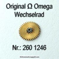 Omega Wechselrad 260-1246 Omega 260 1246 Cal. 260 261 262 265 266 267 268 269 280 283 284 285 286 30 30SCT2 30T1 30T2 30T3