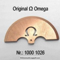 Omega Rotor gebraucht Part Nr. Omega 1000-1026 Cal. 1000 1001 1002