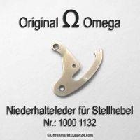 Omega Niederhaltefeder für Stellhebel Omega 1000-1132 Cal. 1000 1001 1002