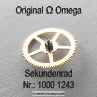 Omega Sekundenrad Part Nr. Omega 1000-1243 Cal. 1000 1001 1002