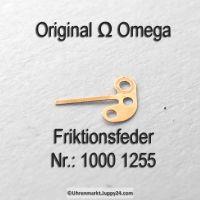Omega 1000-1255 Friktionsfeder für Zentrumsekundentrieb Omega 1000 1255 Cal. 1000 1001 1002