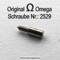 Omega Zifferblattschraube 2529 Part Nr. Omega 2529
