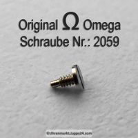 Omega Schraube 2059 für Umstelltrieb Part Nr. Omega 2059