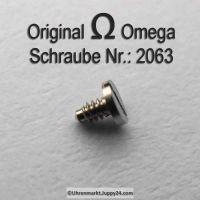 Omega Schraube 2063 für Sperrad Part Nr. Omega 2063