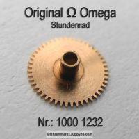 Omega Stundenrad H1 Part Nr. Omega 1000 1232 Cal. 1000 1001 1002