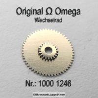 Omega Wechselrad – Omega Minutenrad Part Nr. Omega 1000-1246 Cal. 1000 1001 1002